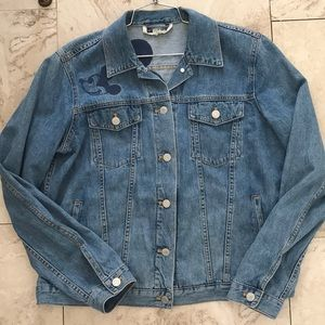 Gap Mickey Mouse Jean Jacket